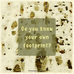 Do you know your own footprint?