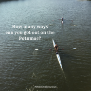 How many ways can you get out on the Potomac?