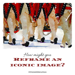 How might you reframe an iconic image?