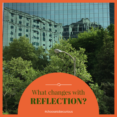 What changes with reflection?