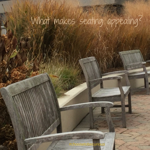 What makes seating appealing?