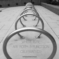 Where else are form and function celebrated?