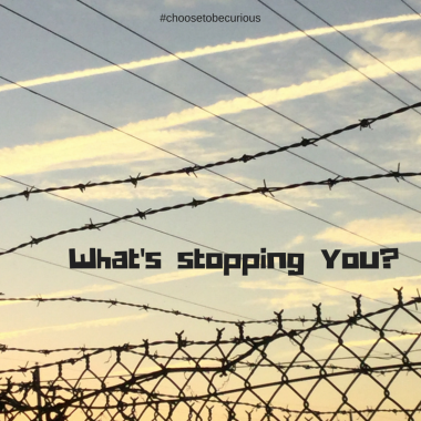 What's stopping you?