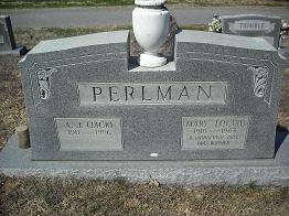 AJ Jack Perlman Grave