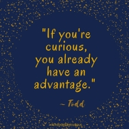 Todd - If you are curious