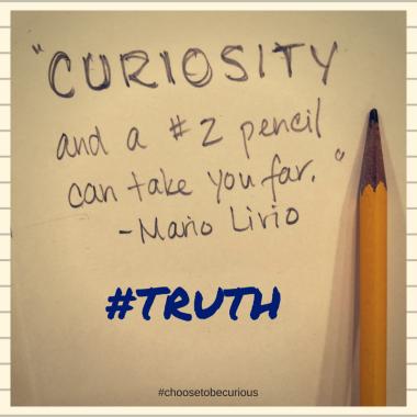 Livio - Curiosity and a no 2 pencil can take you far